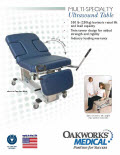 Multi-Specialty Ultrasound Table Flyer